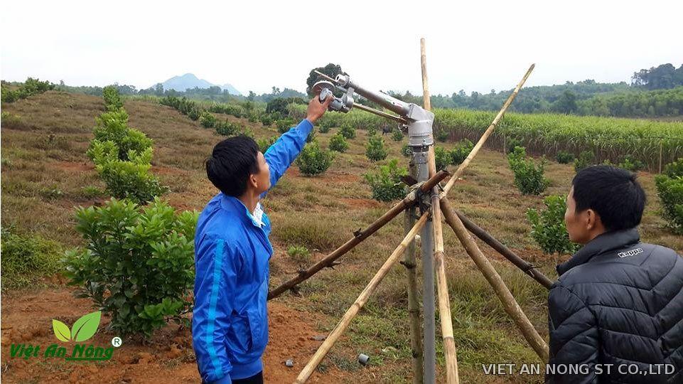 """Súng tưới cây bán kính lớn Nodolini - S60 2"""" (60mm)"""