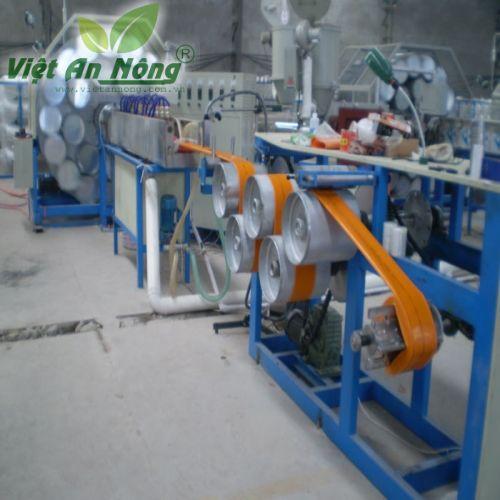 Ống bạt phủ nhựa mềm QV Việt An Nông màu cam - phi 150mm