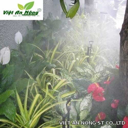 vòi tưới phun sương hoa lan chống tắt