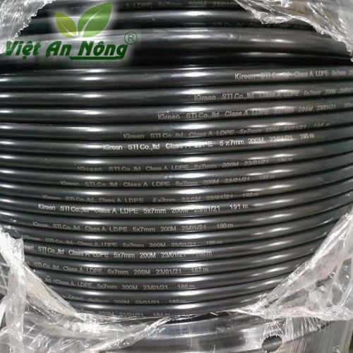 Ống dây LDPE phi 5x7mm loại tốt nhập khẩu 3
