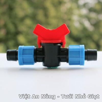 van nối thẳng 2 dây nhỏ giọt 16mm