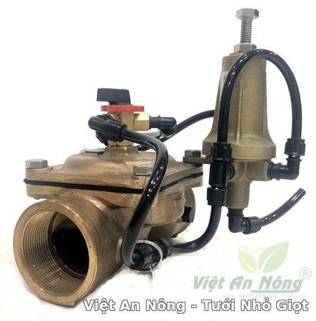 Van giảm áp hydraulic bằng đồng phi 60mm Automat 3