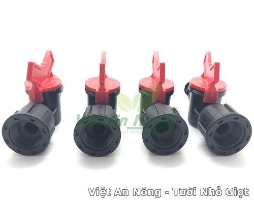 Van khóa 16 cho ống ldpe ren trong 21mm Việt an nông 1