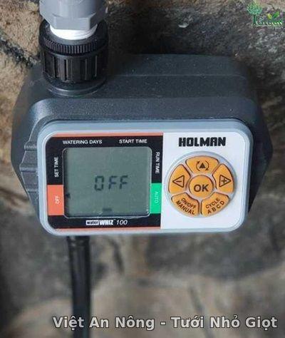 Bộ hẹn giờ tưới cây Whiz100 – CO4001 Holman - Úc