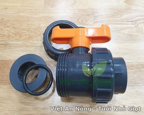 Van cầu rắc co hai đầu ren phi 34mm - Automat_Vietannong 5