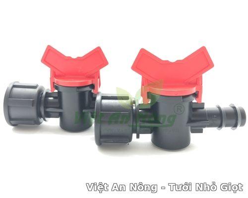 Van khóa 16 cho ống ldpe ren trong 21mm Việt an nông