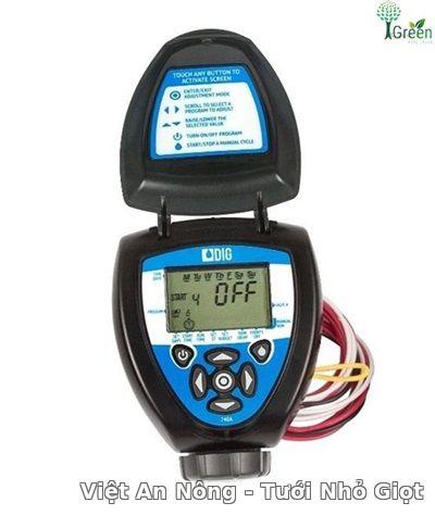 Bộ điều khiển tưới kèm van điện 34mm DIG – Mỹ