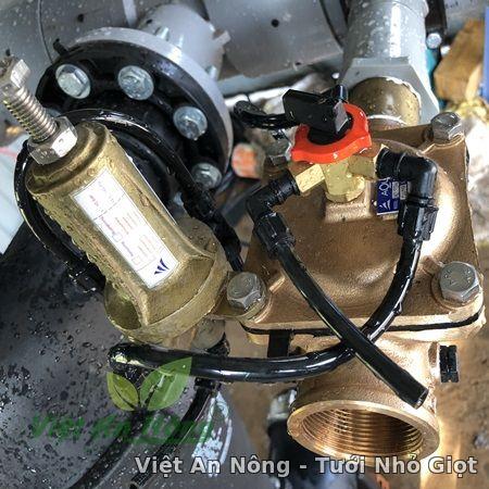 Van giảm áp hydraulic bằng đồng phi 60mm Automat 5