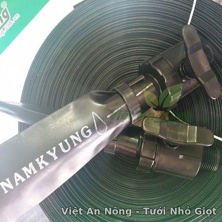 Van ren ngoài dây tưới phun mưa 34, 42mm việt an nông korea