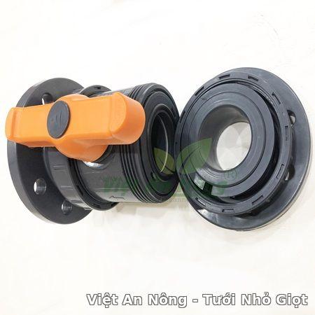 Van cầu rắc co hai đầu mặt bích 76mm - Automat Việt An Nông 2