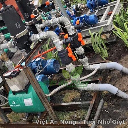 Van cầu rắc co hai đầu ren - Automat_Vietannong