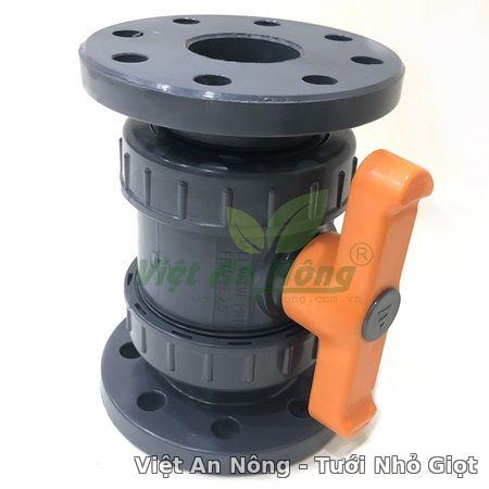 Van cầu rắc co hai đầu mặt bích 76mm - Automat Việt An Nông 1