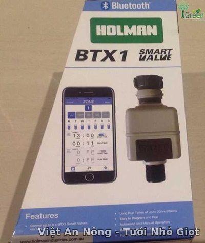 Van mở nước thông minh qua bluetooth BTX1 Holman - Úc
