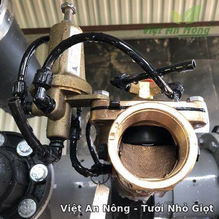 Van cân bằng áp hydraulic bằng đồng phi 60mm Automat 2