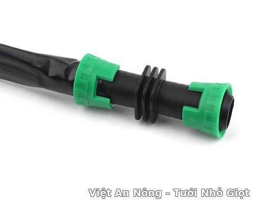 Nối rút hai dây tưới nhỏ giọt dẹp 16mm