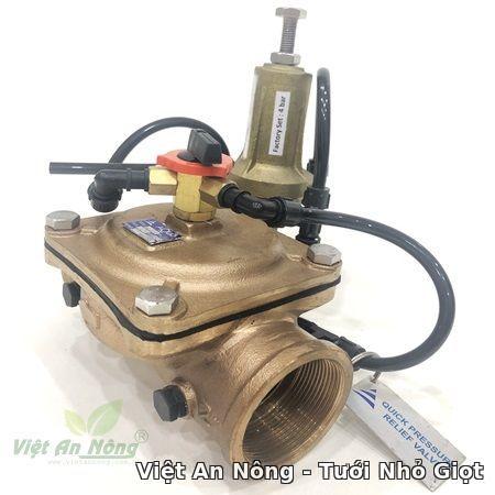 Van cân bằng áp hydraulic bằng đồng phi 60mm Automat Vietannong