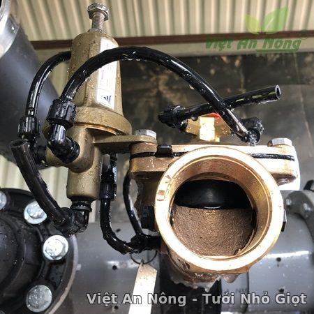 Van giảm áp hydraulic bằng đồng phi 60mm Automat6