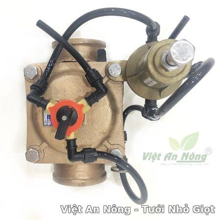 Van giảm áp hydraulic bằng đồng phi 60mm Automat 2