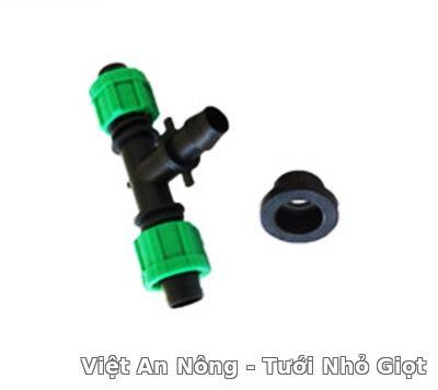 Khởi thủy chữ T cho dây nhỏ giọt 16mm