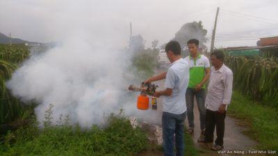 máy phun thuốc tạo khói mini hàn quốc bf2000g