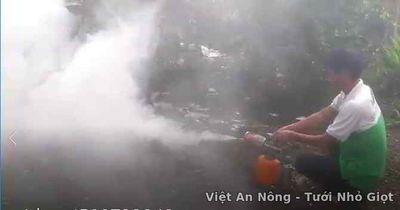 máy phun khói mini hàn quốc việt an nông