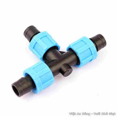 Chữ tê gắn ống nhỏ giọt 16mm