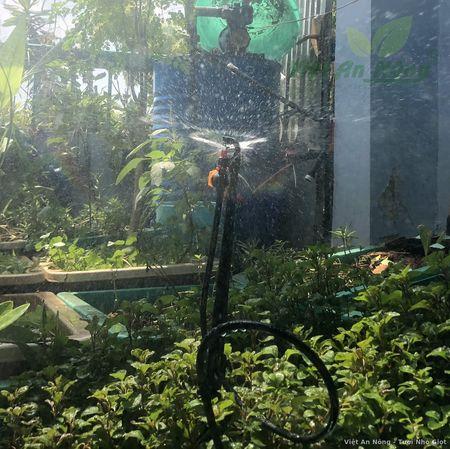 Béc tưới chỉnh van kèm cây cắm - dây dài 50cm 3