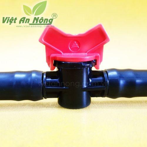 Van khoá ống LDPE phi 20mm cao cấp Automat 5