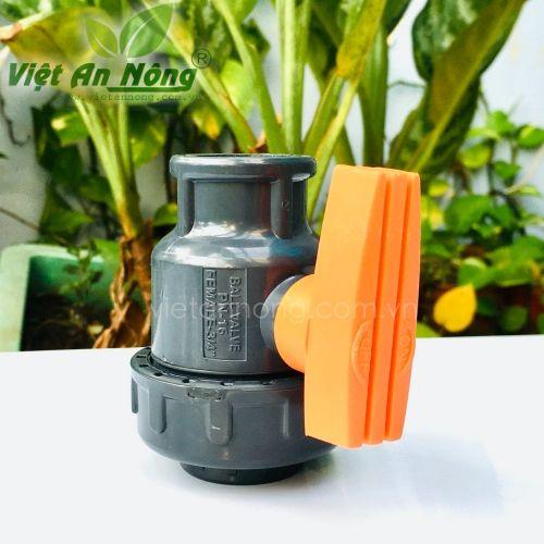 Van cầu rắc co một đầu ren 27mm Automat - Ấn Độ 1
