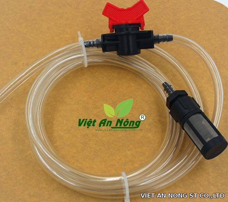 Bộ dây dẫn đủ bộ trong hệ thống châm phân cho venturi phi 34.