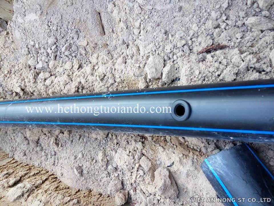 Khởi thủy 20mm ra ống LDPE Việt An Nông