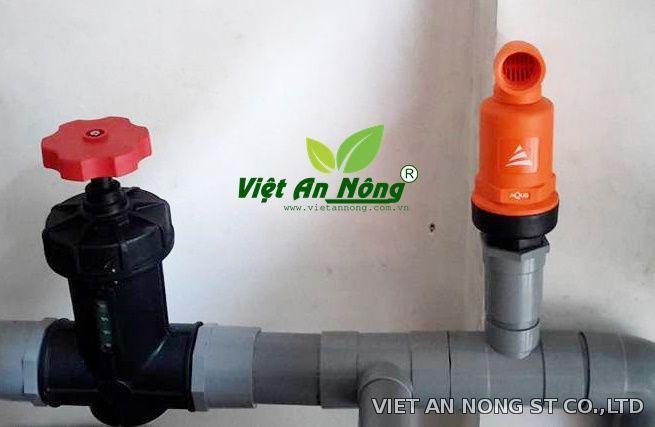 Van xả khí - Tưới nhỏ giọt phi 60 - Ấn Độ